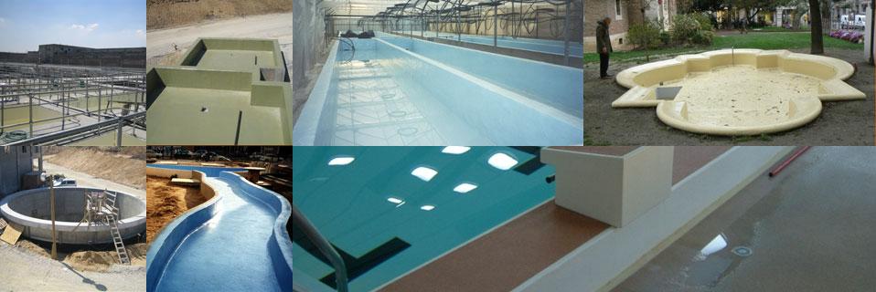 Гидроизоляция бассейнов и резервуаров.
