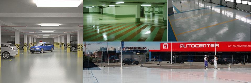 Гидроизоляция и капитальный ремонт полов для паркингов.