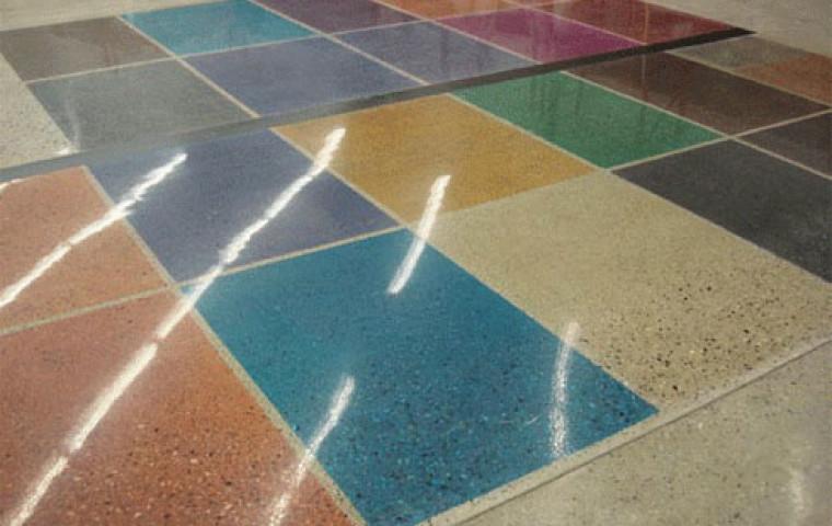 Полированные бетонные полы ХЛК Технологии