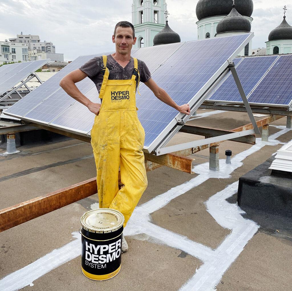 Гидроизоляция крыши CoffeeMal