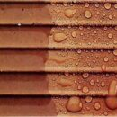 Покраска шиферных, черепичных крыш. Прозрачное и цветное эластичное покрытие