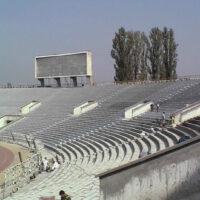 Защита конструкций спортивных сооружений